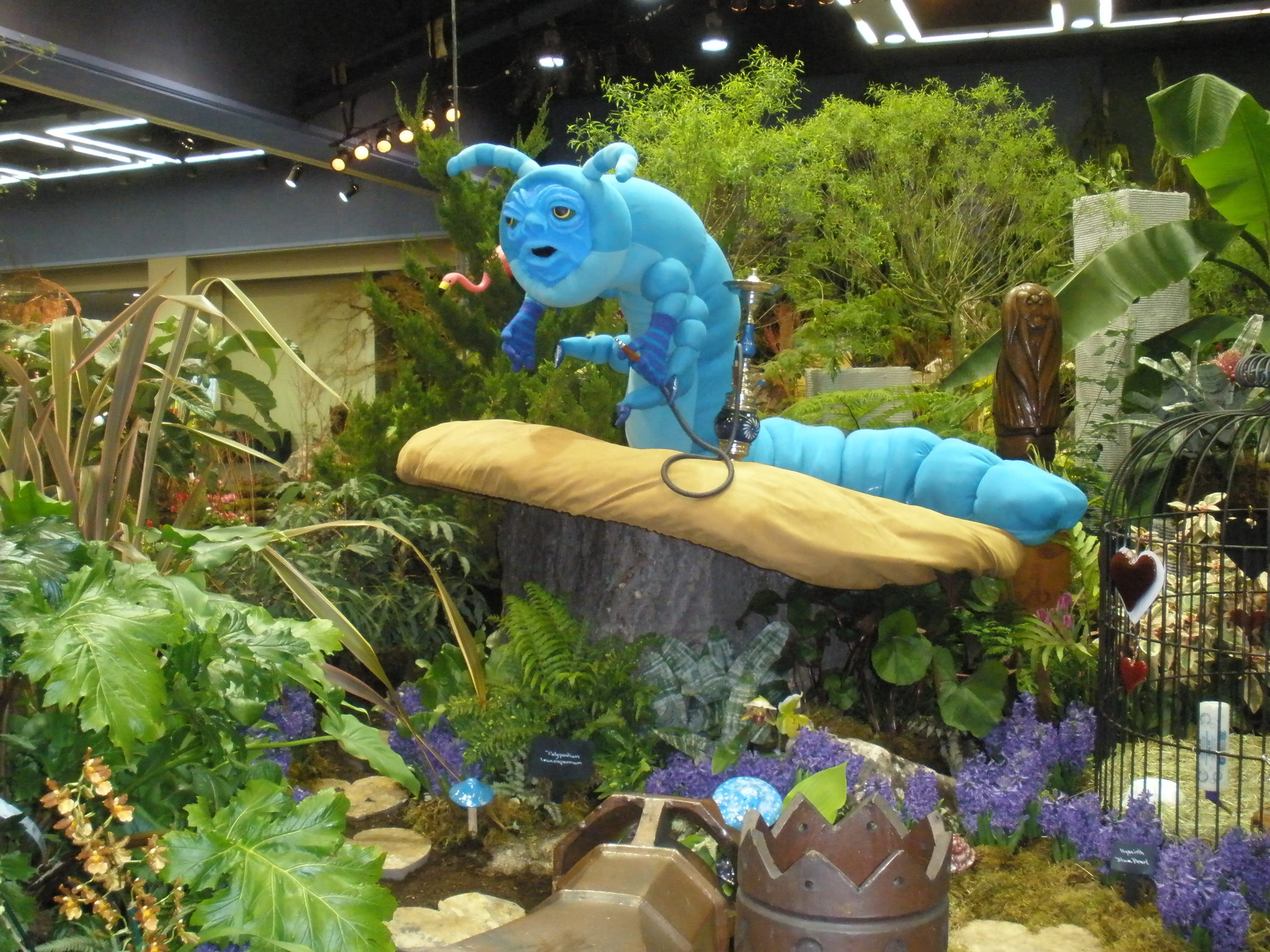 Figments studio blog thoughts and updates from jill - Alice in wonderland outdoor decorations ...